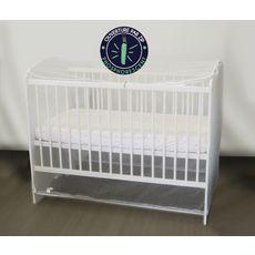 Domiva Moustiquaire adaptable pour lits de 60 x 120 cm et 70 x 140 cm