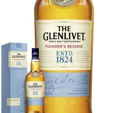 The Glenlivet Whisky The Glenlivet Founder's Reserve avec étui 40%