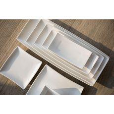 Cosy&Trendy Lot de 6 assiettes plates AVANTGARDE 25,6 cm (Blanc)