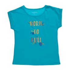 IN EXTENSO T-shirt manches courtes fille (vert)