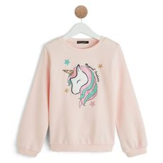 IN EXTENSO Sweat fille (Rose )