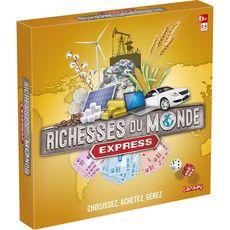 LANSAY Jeu Les richesses du monde express
