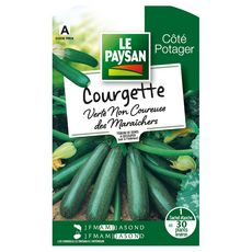 LE PAYSAN Semence potagère courgette verte x1 1 pièce