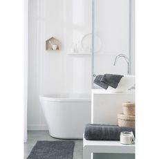 TODAY Serviette de toilette unie en coton 600 gr/m2