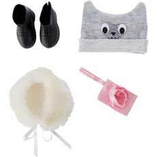 One Two Fun Accessoires ma jolie poupée mode 46 cm - sac à main pochette rose
