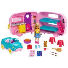 BARBIE Chelsea et sa caravane - Barbie