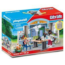 PLAYMOBIL 70309 - City Life - Coffre vétérinaire