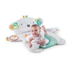 Bright Starts Tapis d'Eveil Ours Polaire Tummy Time Prop & Play