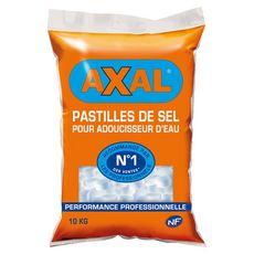 AXAL Pastilles sel adoucisseur d'eau 10kg 10kg