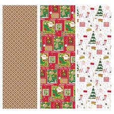 Papier cadeau de Noël 10M 1 pièce