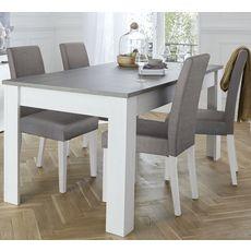 Table de séjour salle à manger extensible L170-230cm COMTESSE
