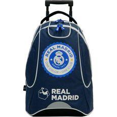 Real Madrid Sac à dos à roulettes bleu FC REAL MADRID