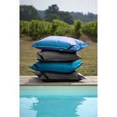 Easy for life Pouf de jardin rectangle 125x95 cm gris ardoise BIG BAG