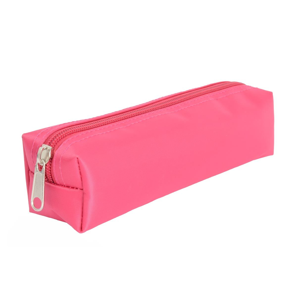 Trousse satin fille twill color rose