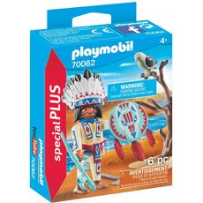 PLAYMOBIL  70062 Chef de Tribu Autochtone