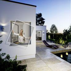 Moustiquaire cadre adaptable Flexi-Fit 100 x 120 cm Blanc INSECT PROTECT