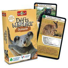BIOVIVA Défis Nature Océanie 36 cartes collector 1 jeu