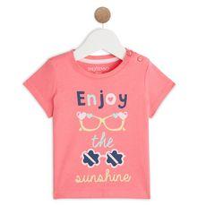 IN EXTENSO T-shirt manches courtes bébé fille