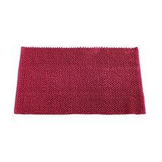 TODAY Tapis de bain uni en polyester 1500G/M²  BUBBLE (Rose foncé)