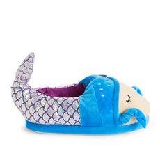 IN EXTENSO Chaussons poissons fille (Bleu turquoise)