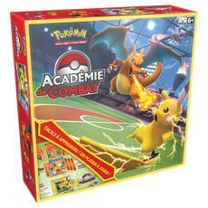 ASMODEE Jeu d'initiation Pokémon - Académie de combat