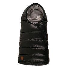 KAISER Chancelière sac de couchage - De 0 à 12 mois - Noir satiné motif étoile