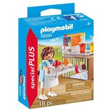 PLAYMOBIL 70251 - Spécial Plus - Vendeur de sorbets