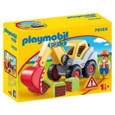 PLAYMOBIL 70125 - 1.2.3 -  Pelleteuse
