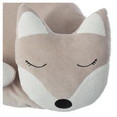 ATMOSPHERA FOR KIDS Coussin déco enfant forme renard  (Beige)