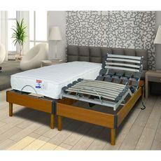Lit relaxation électrique TPR LOMBATONIC3 160x200 cm