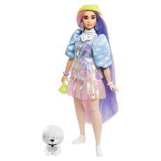 BARBIE Poupée Barbie - Barbie Extra Bonnet Vert