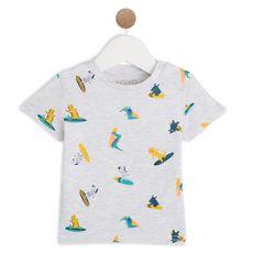 IN EXTENSO T-shirt manches courtes coton bio bébé garçon