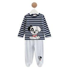 Les Dalmatiens Pyjama 2 pièces bébé garçon (Bleu marine)