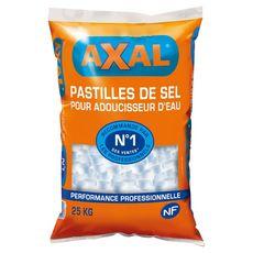 AXAL Pastilles sel adoucisseur d'eau 25kg 25kg