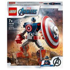 LEGO Marvel Avengers 76168 L'armure robot de Captain America