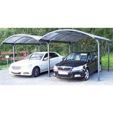 Double carport aluminium Blackpool / 28.62 m²