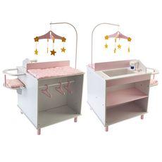 One Two Fun Table nurserie en bois