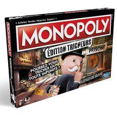 HASBRO Jeu Monopoly tricheurs