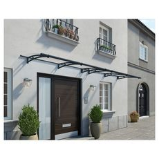Canopia by PALRAM Marquise AQUILA 4100 Gris anthracite
