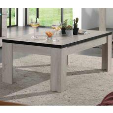 Table basse L135cm ALBA (Chêne blanchi)