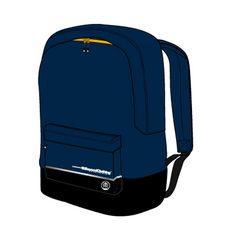 BEYOND CLOTHING Sac à dos 1 compartiment W6 - Bleu marine