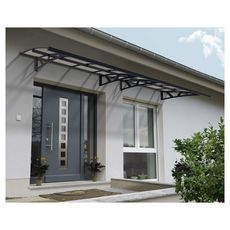 Canopia by PALRAM Marquise CANOPY AMSTERDAM 4460 Gris anthracite