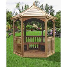 Kiosque de jardin avec plancher ADELAIDE / 4,74 m²