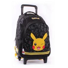 Sac à dos à roulettes Pokémon Picahchu 45cm