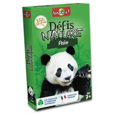 BIOVIVA Défis Nature Asie 36 cartes collector 1 jeu