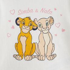 LE ROI LION Pyjama 2 pièces Simba et Nala bébé fille (Rose clair )
