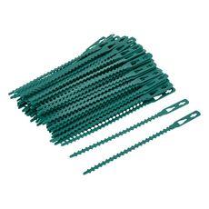 Lot de 100 bagues plastique vertes