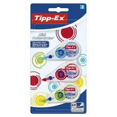 BIC Tipp-ex Mini pocket ruban correcteurs 6mx5mm x3 3 pièces