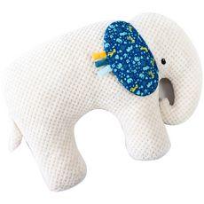 Domiva Coussin d'activités cale bébé éléphant Zanimo