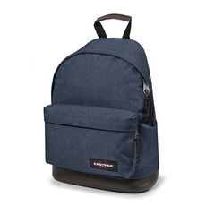 sac à dos WYOMING double denim bleu 1 compartiment
